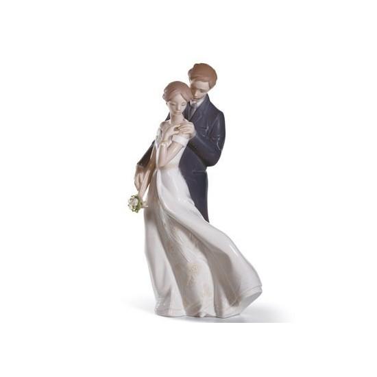 Figura de porcelana de Lladró Amor Eterno