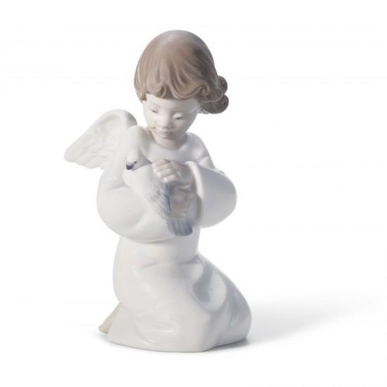 Figura de porcelana de Lladró Amorosa protección