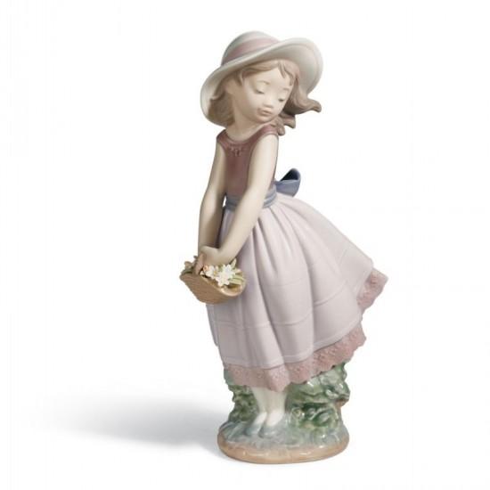 Figura de porcelana de Lladró Linda inocencia