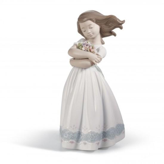 Figura de porcelana de Lladró Tierna inocencia