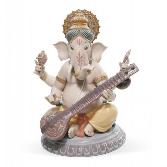 Ganesha con veena