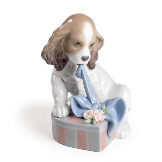 Figura de porcelana de Lladró Estoy impaciente