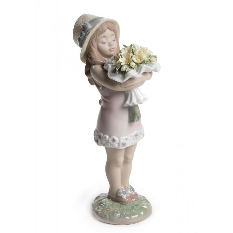 Figura de porcelana de Lladró Te mereces lo mejor