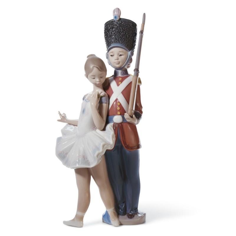 Figura de porcelana de Lladró El soldadito de plomo