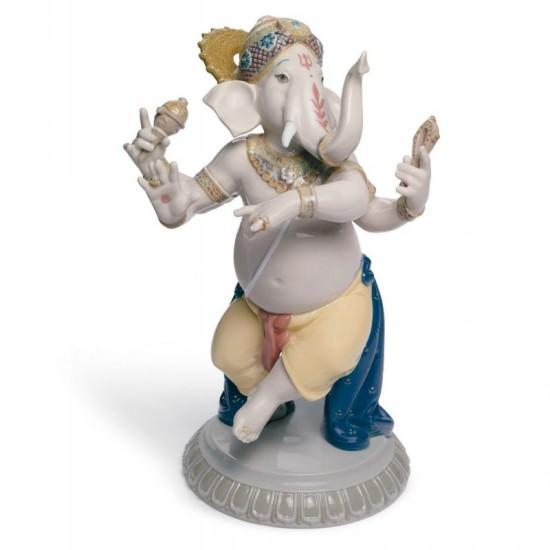 Figura de porcelana Lladró  Ganesha danzante