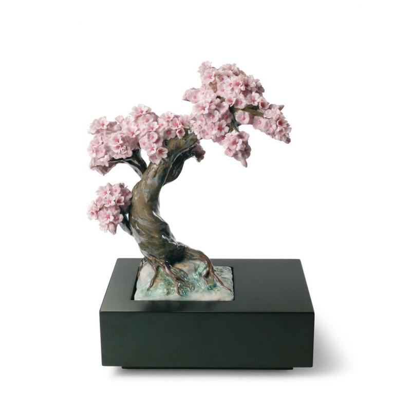 Figura de porcelana de Lladró Estación florida - árbol