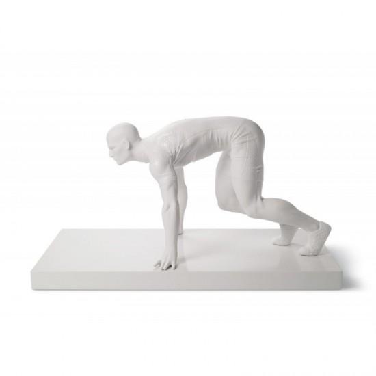 Figura de porcelana de Lladró Velocista