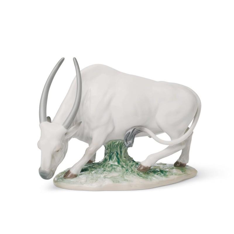 Figura de porcelana de Lladró El Buey