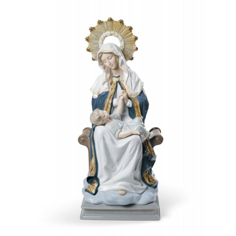 Figura de porcelana de Lladró La Virgen de la Divina Providencia