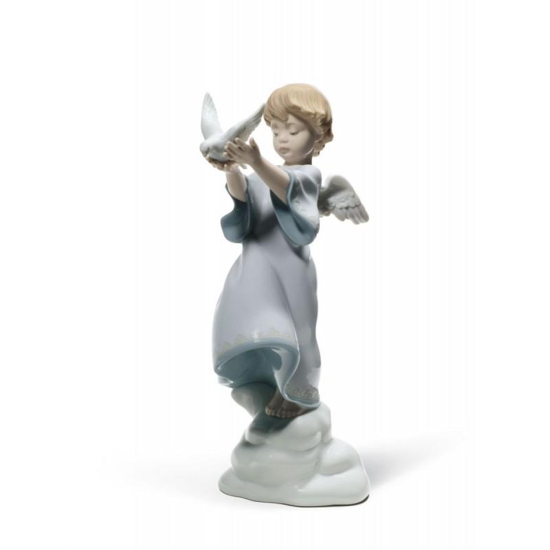 Figura de porcelana de Lladró Paz en la tierra