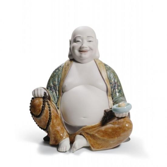 Figura de porcelana Lladró Buda Feliz