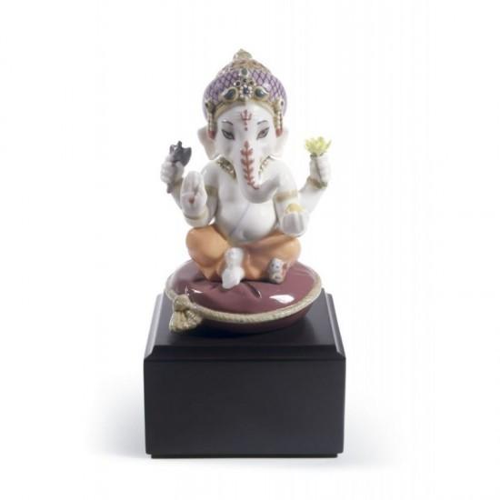 Figura de porcelana Lladró Bal Ganesha