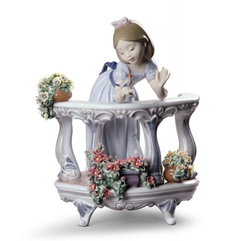 Figura de porcelana de Lladró El despertar de la primavera (ed. esp.)