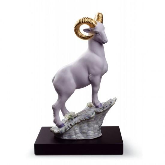 Figura de porcelana de Lladró El carnero