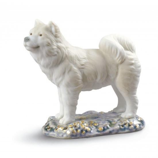 Figura de porcelana de Lladró El Perro-Mini