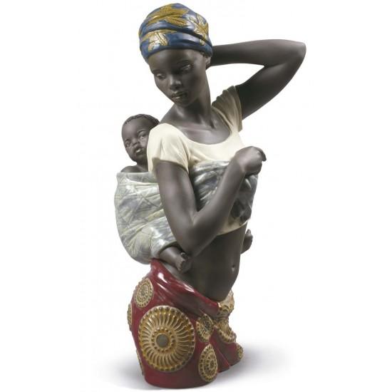 Figura de porcelana Lladró Sabor Africano