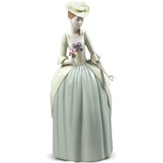 Figura de porcelana de Lladró Bouquet para una dama