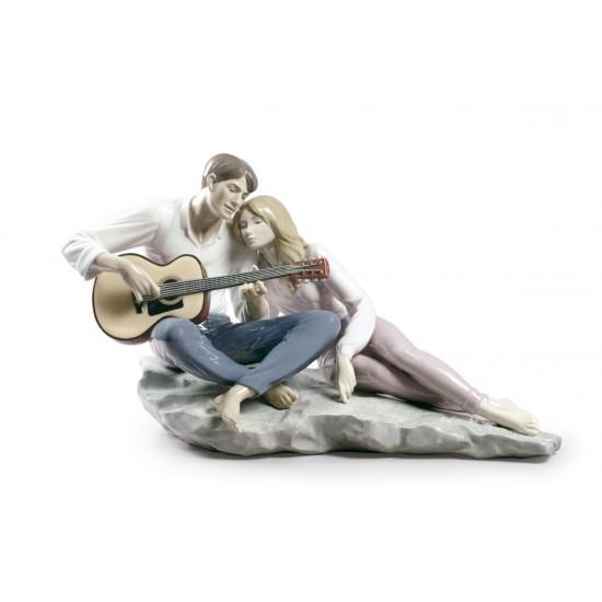 Figura de porcelana de Lladró Nuestra canción