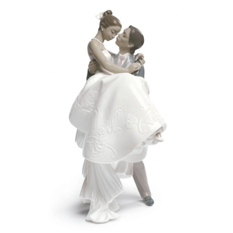 Figura de porcelana de Lladró El día más feliz