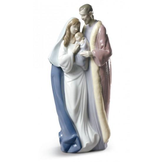 Figura de porcelana de Lladró Sagrada Familia