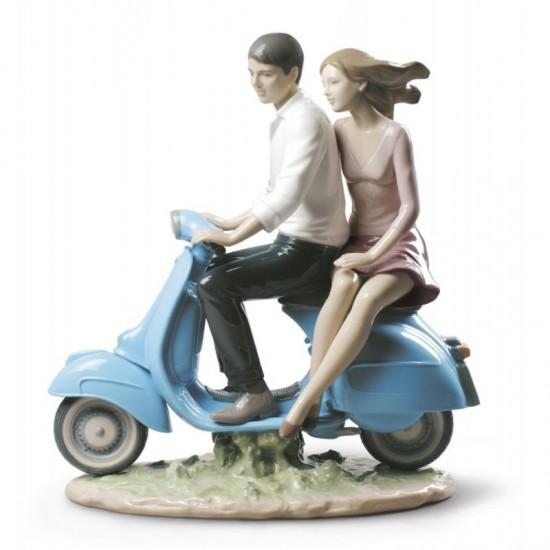 Figura de porcelana de Lladró De paseo contigo