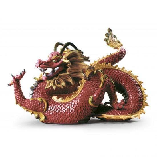 Figura de porcelana Lladró Dragón solemne
