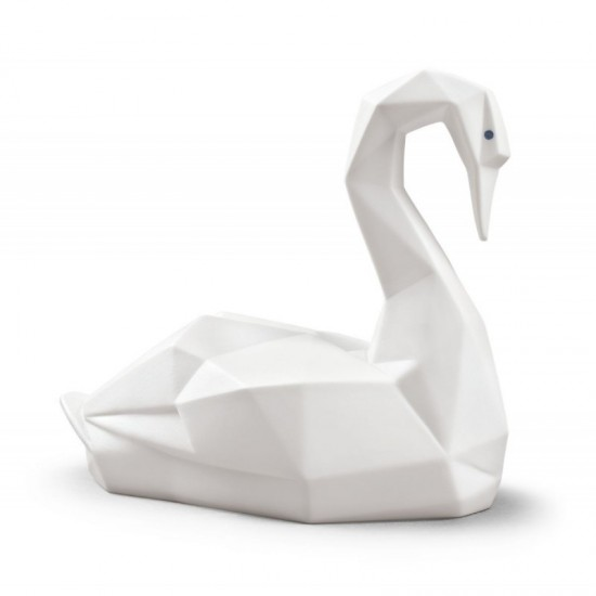 Cisne (blanco mate)