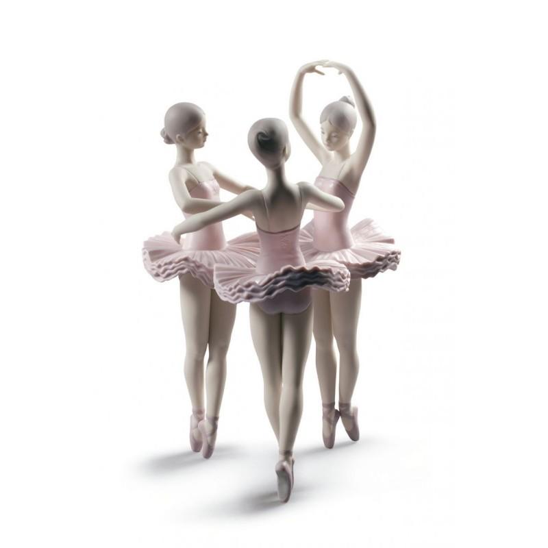 Figura de porcelana Lladró Nuestra pose de ballet