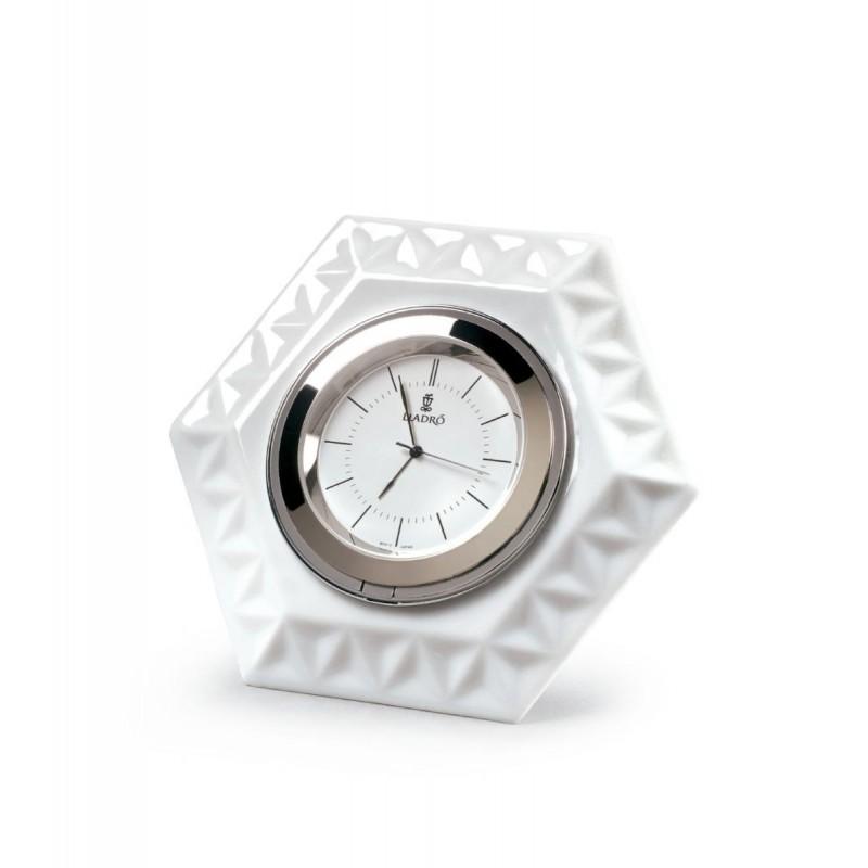 Frame hexagonal clock