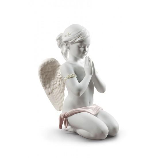 Figura de porcelana de Lladró Oración Celestial