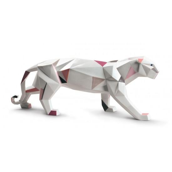 Figura de porcelana de Lladró Pantera