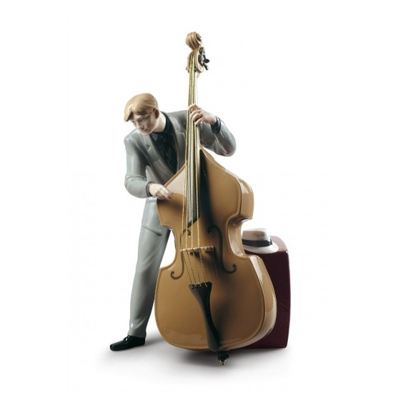 Jazz bass player