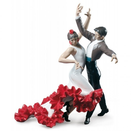 Figura de porcelana de Lladró Baile Flamenco