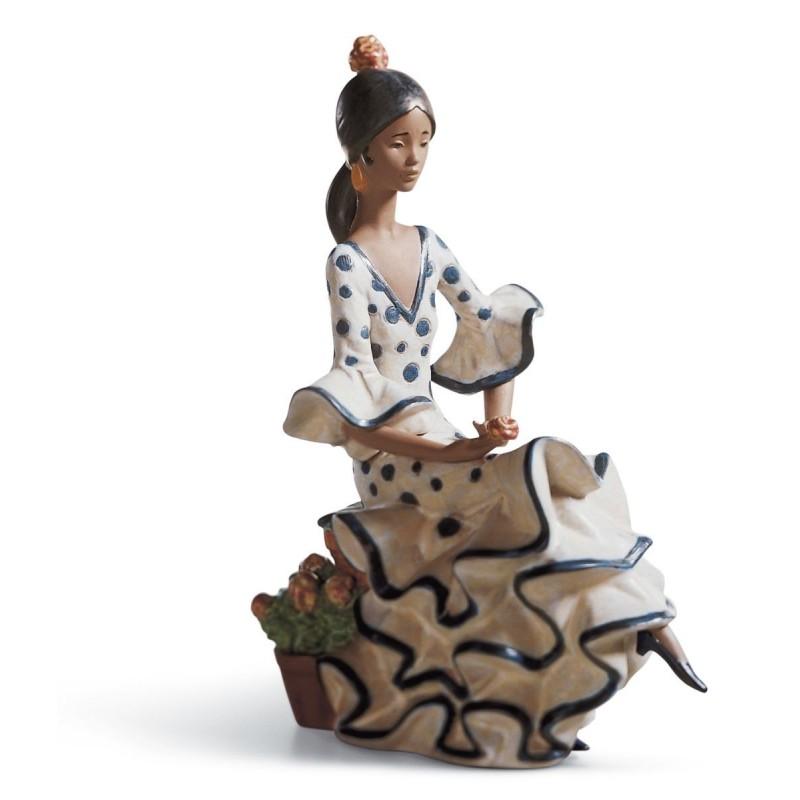Figura de porcelana de Lladró Andaluza serena