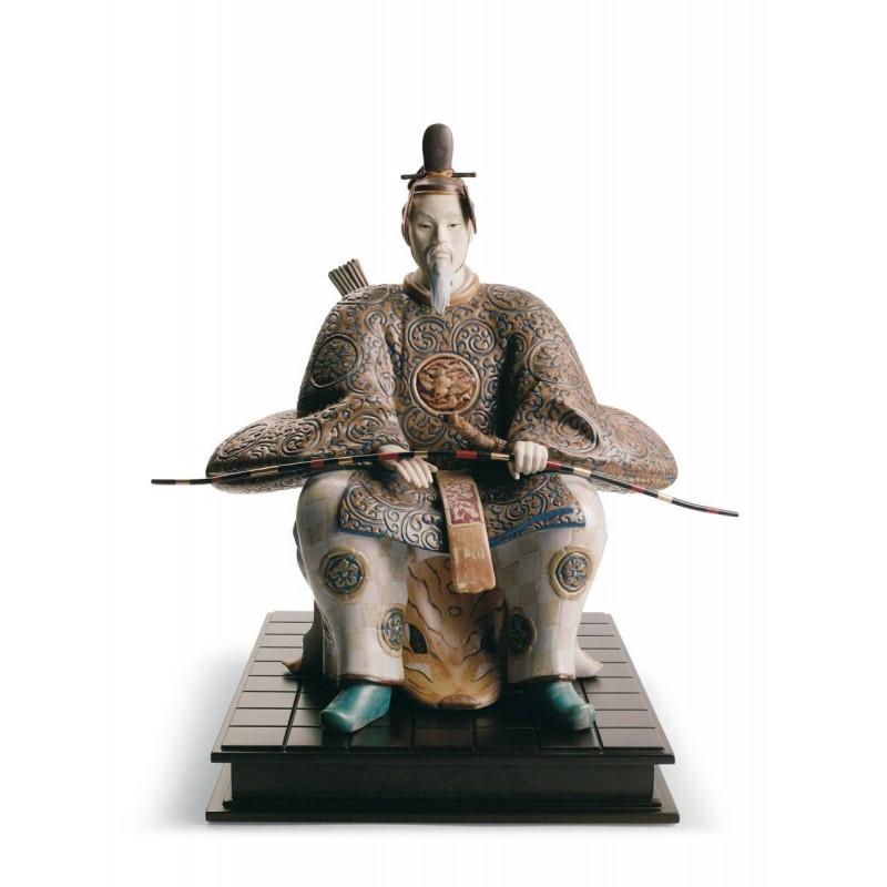 Figura de porcelana Lladró Noble japonés II