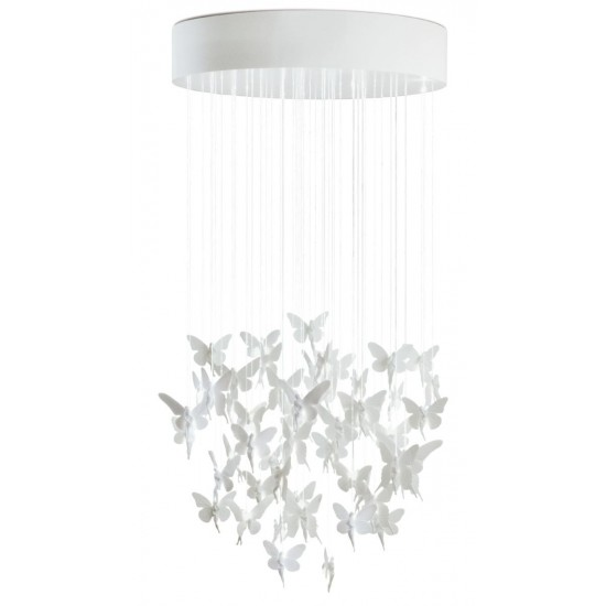 Chandelier Niagara 0.80m blanco (CE/UK)