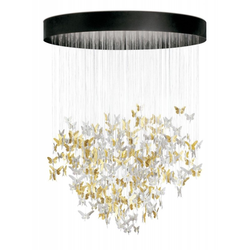Chandelier Niagara 2m dorado (CE/UK)