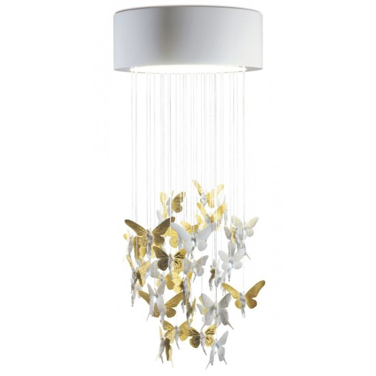 Chandelier Niagara 0.60m dorado (CE/UK)