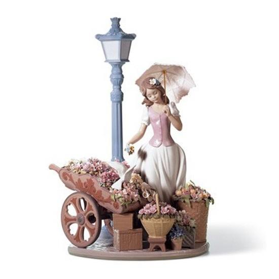 Figura de porcelana de Lladró Flores de Primavera