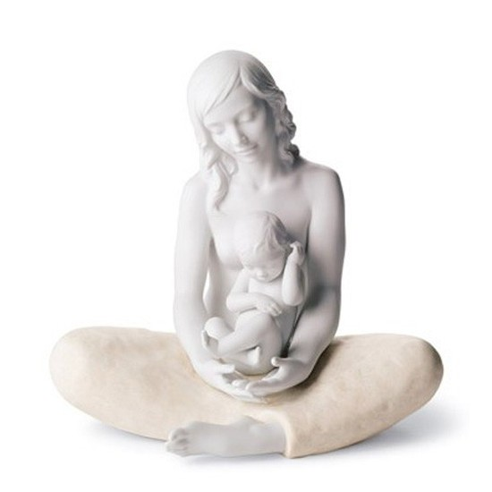Figura de porcelana de Lladró La Madre