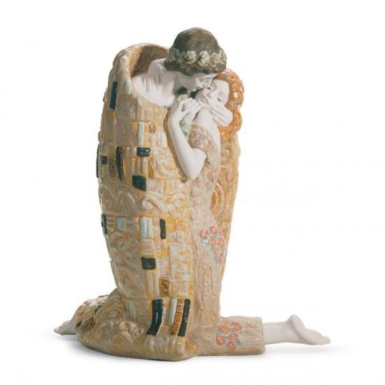 Figura de porcelana de Lladró El Beso