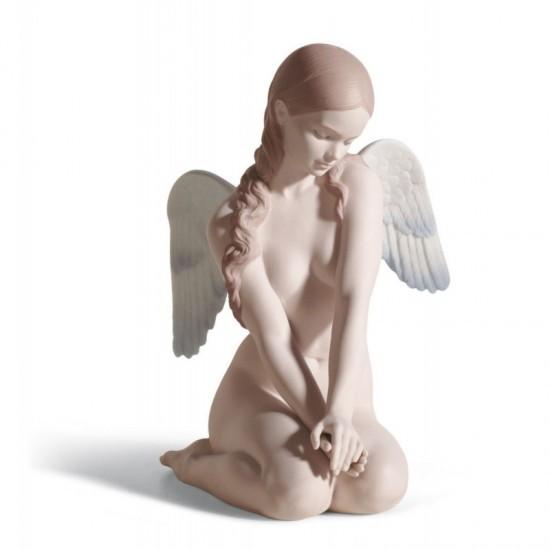 Figura de porcelana de Lladró Ángel hermoso
