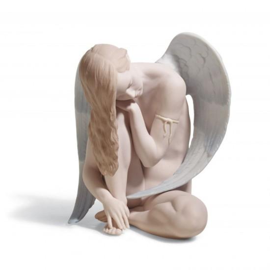 Figura de porcelana de Lladró Ángel maravilloso