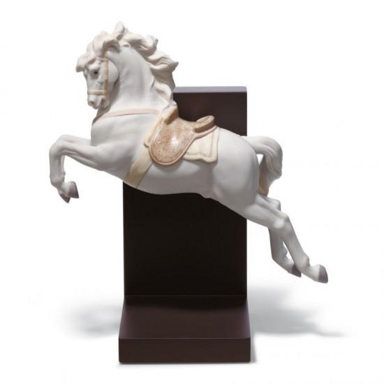 Figura de porcelana de Lladró Caballo en pirouette