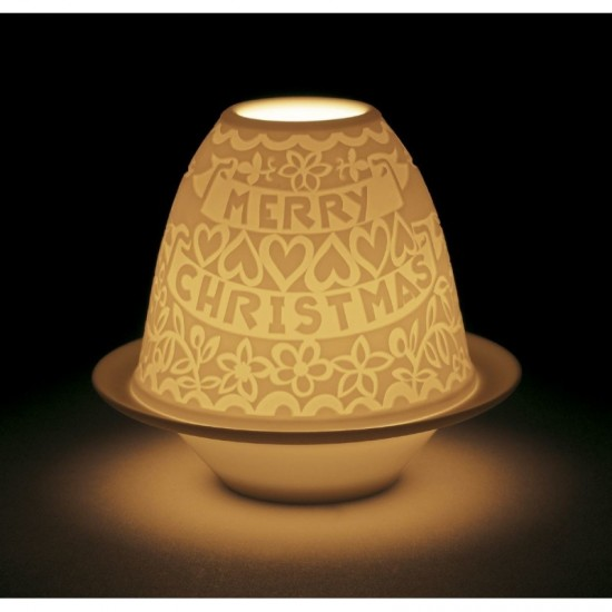 Litofanía Navidad Recortables con plato