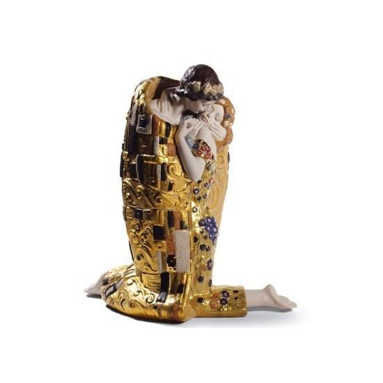 Figura de porcelana de Lladró El Beso (Edición 150 Aniversario)
