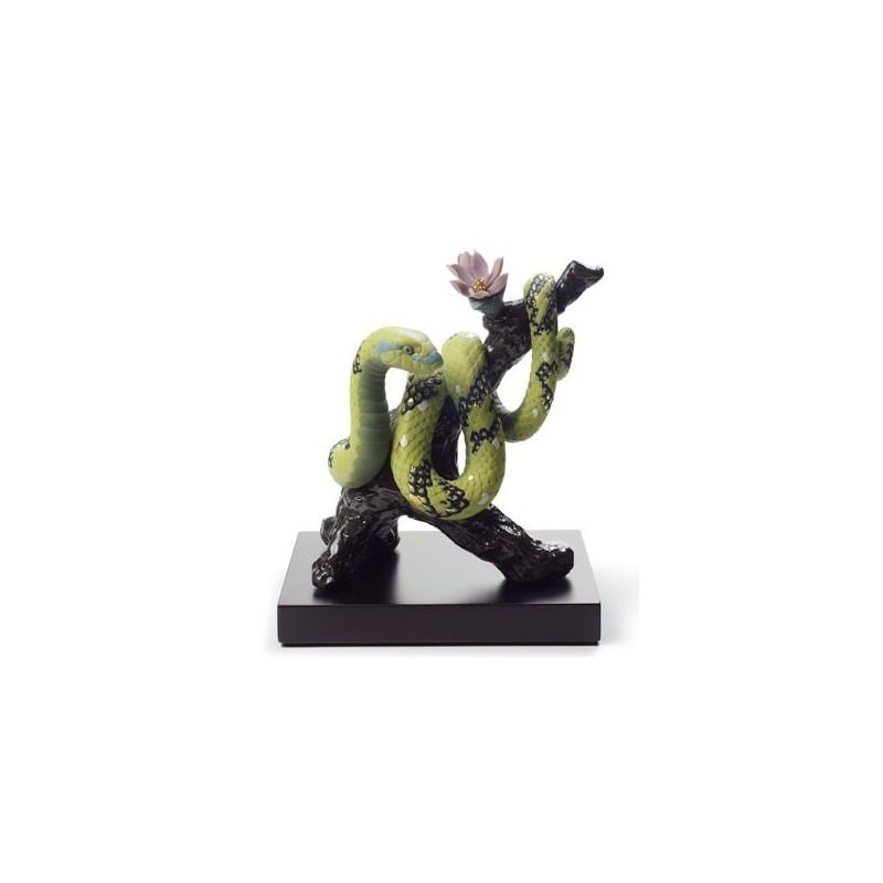 Figura de porcelana de Lladró La Serpiente