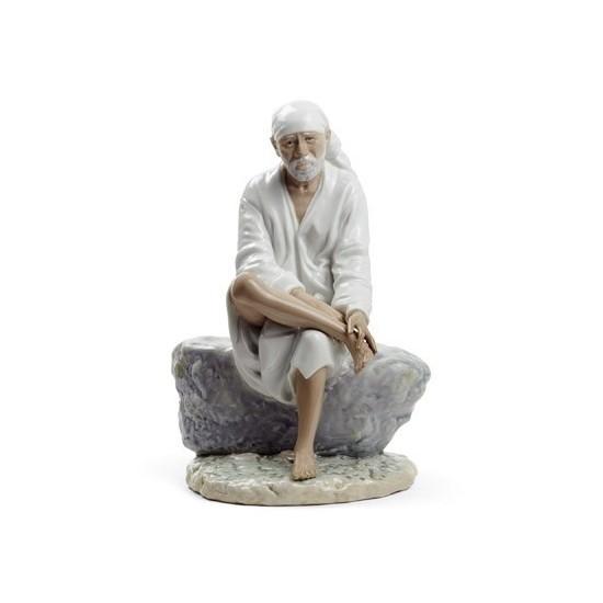Figura de porcelana Lladró Sai Baba