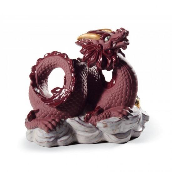 Figura de porcelana Lladró El Dragón (rojo) - WB