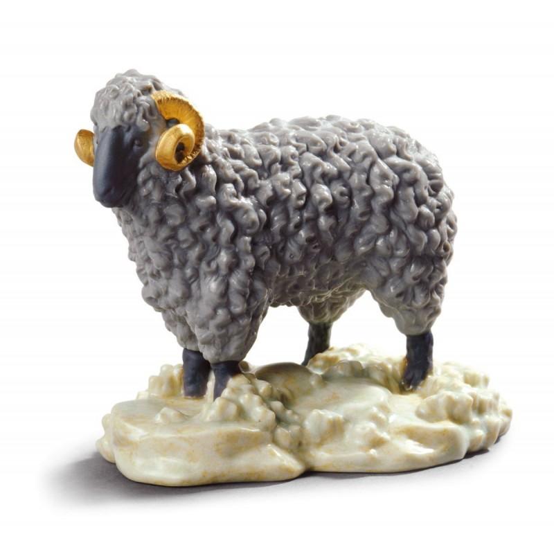 Figura de porcelana de Lladró El Carnero - Mini
